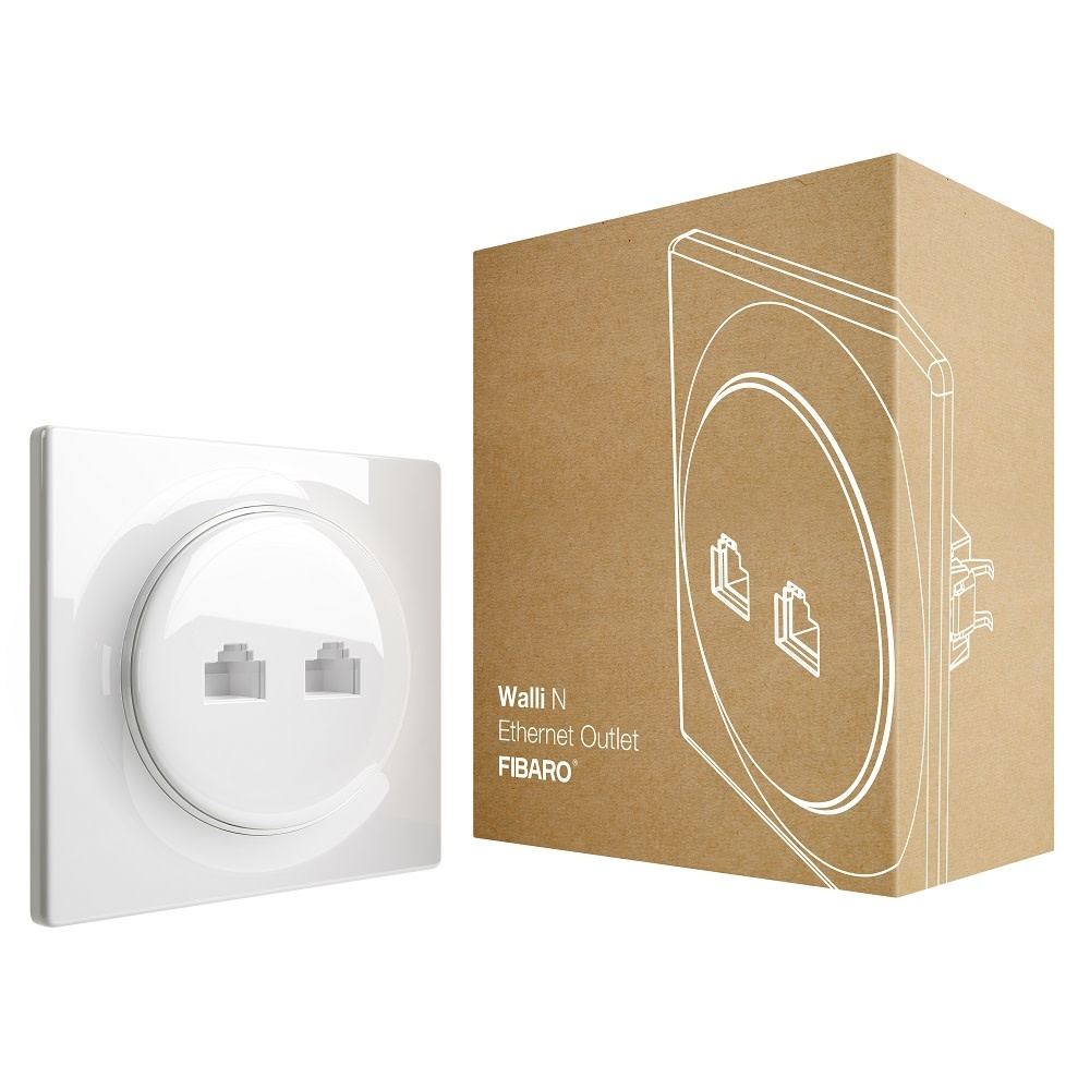 FIBARO FIBARO Walli Ethernet Outlet