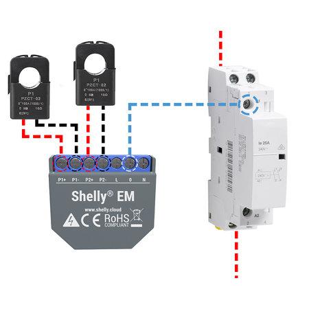 SHELLY Shelly EM WiFi Energiemeter