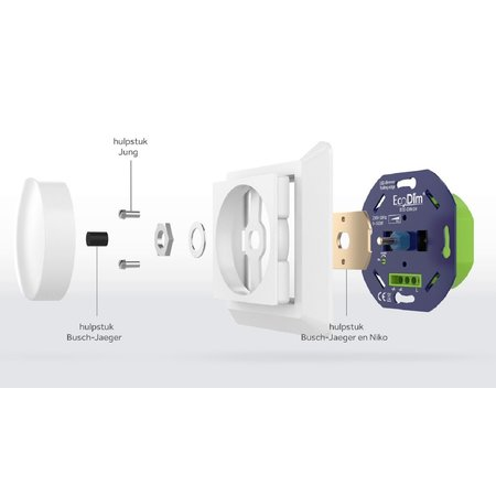 ECODIM ECODIM Smart LED Draaidimmer