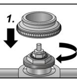 Radiatorkraan Adapter VA 50