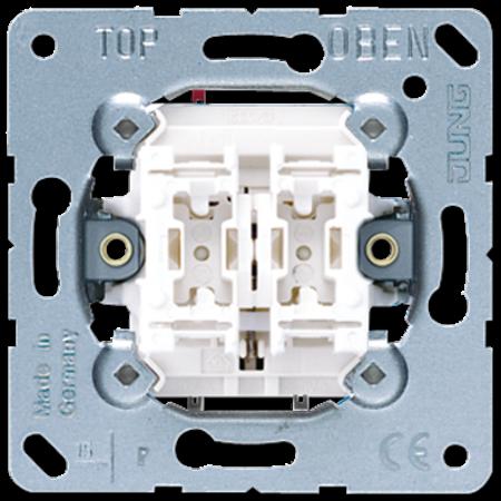 JUNG JUNG dubbele Impulsdrukker 10 A 250 V