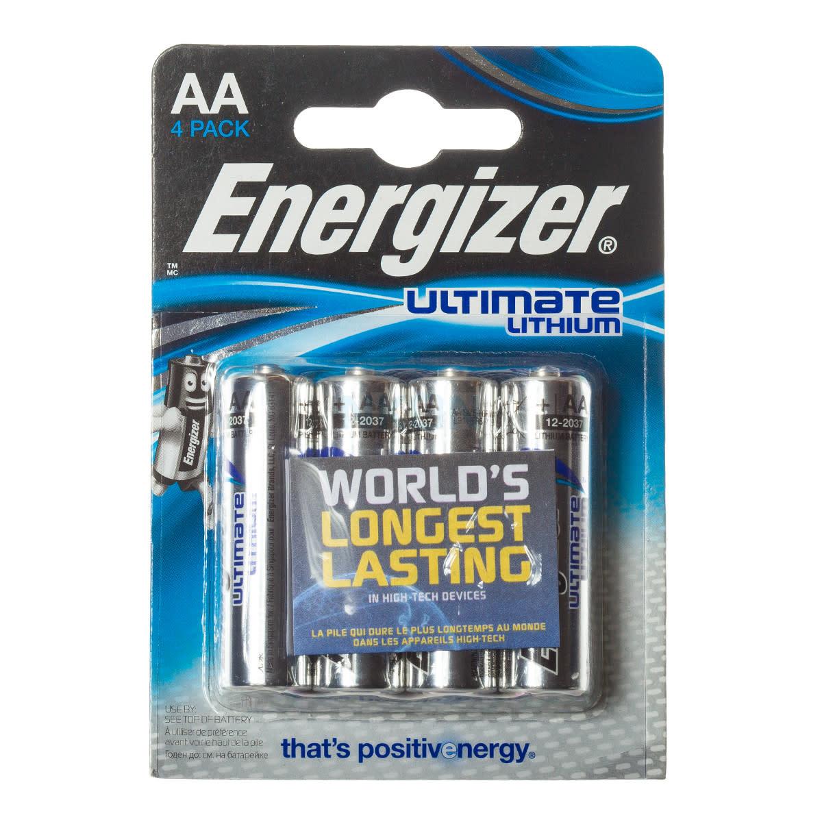 ENERGIZER Energizer Ultimate Lithium 4xAA