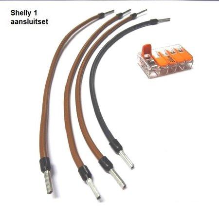 Shelly 1 aansluitset