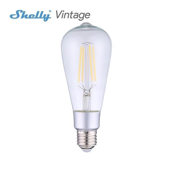 SHELLY Shelly Vintage ST64 WiFi Smartbulb