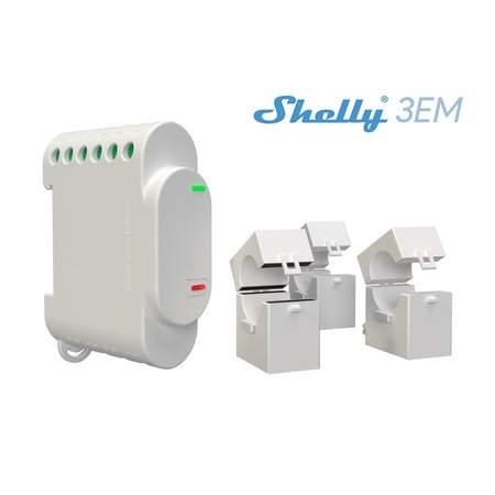 SHELLY Shelly 3EM WiFi Energiemeter