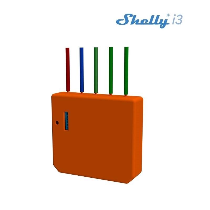 SHELLY Shelly i3 WiFi inbouw schakelaar