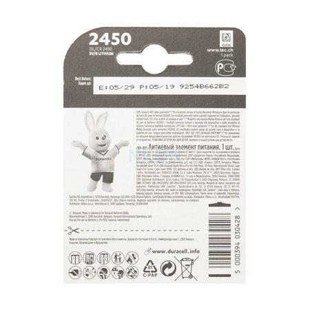 DURACELL Duracell CR2450 batterij