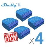 SHELLY Shelly 1L WiFi inbouwschakelaar