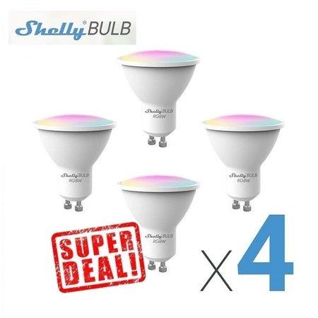 SHELLY Shelly Bulb GU10 RGBW
