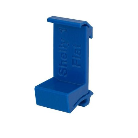 SHELLY Shelly 1 of 1PM DIN-Rail mount  plat Blauw
