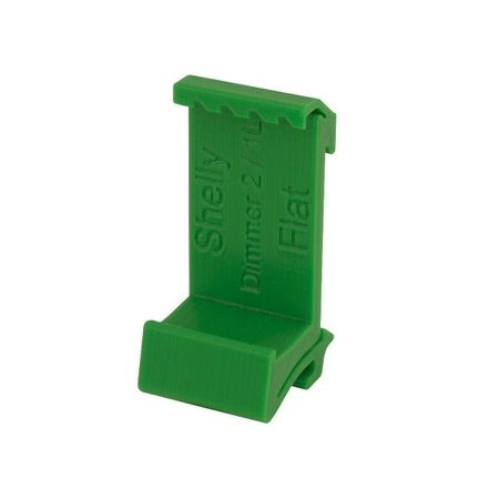 SHELLY Shelly Dimmer 2 of 1L DIN-Rail mount  plat Groen
