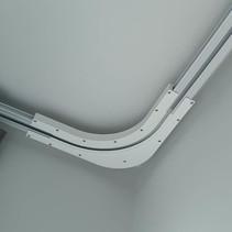 Hoekrail 90° Elektrisch Gordijnrail Systeem