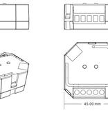 ZigBee Hue Dubbele Inbouwschakelaar