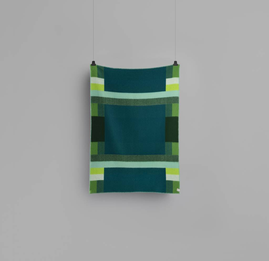Luxe Plaid Mikkel green