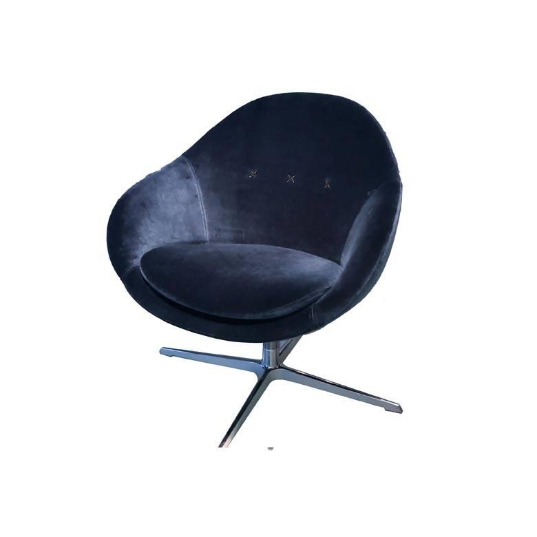 Varier® Kokon Club showroommodel blue velvet