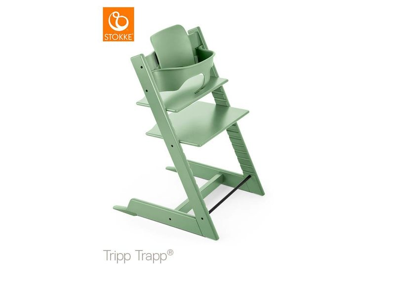 Tripp Trapp met babyset Moss Green
