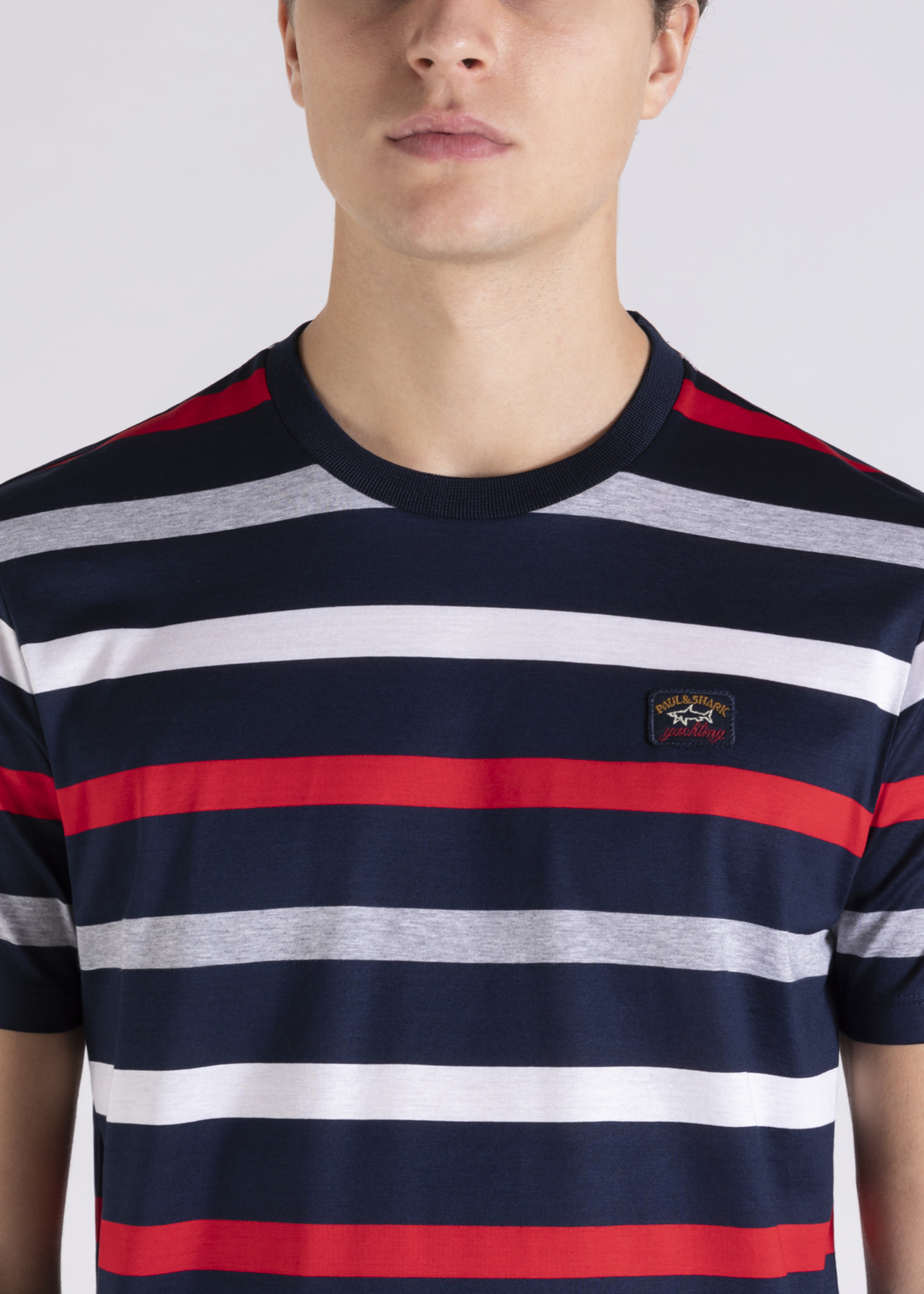 MEN'S KNITTED T-SHIRT C.W. COTTON