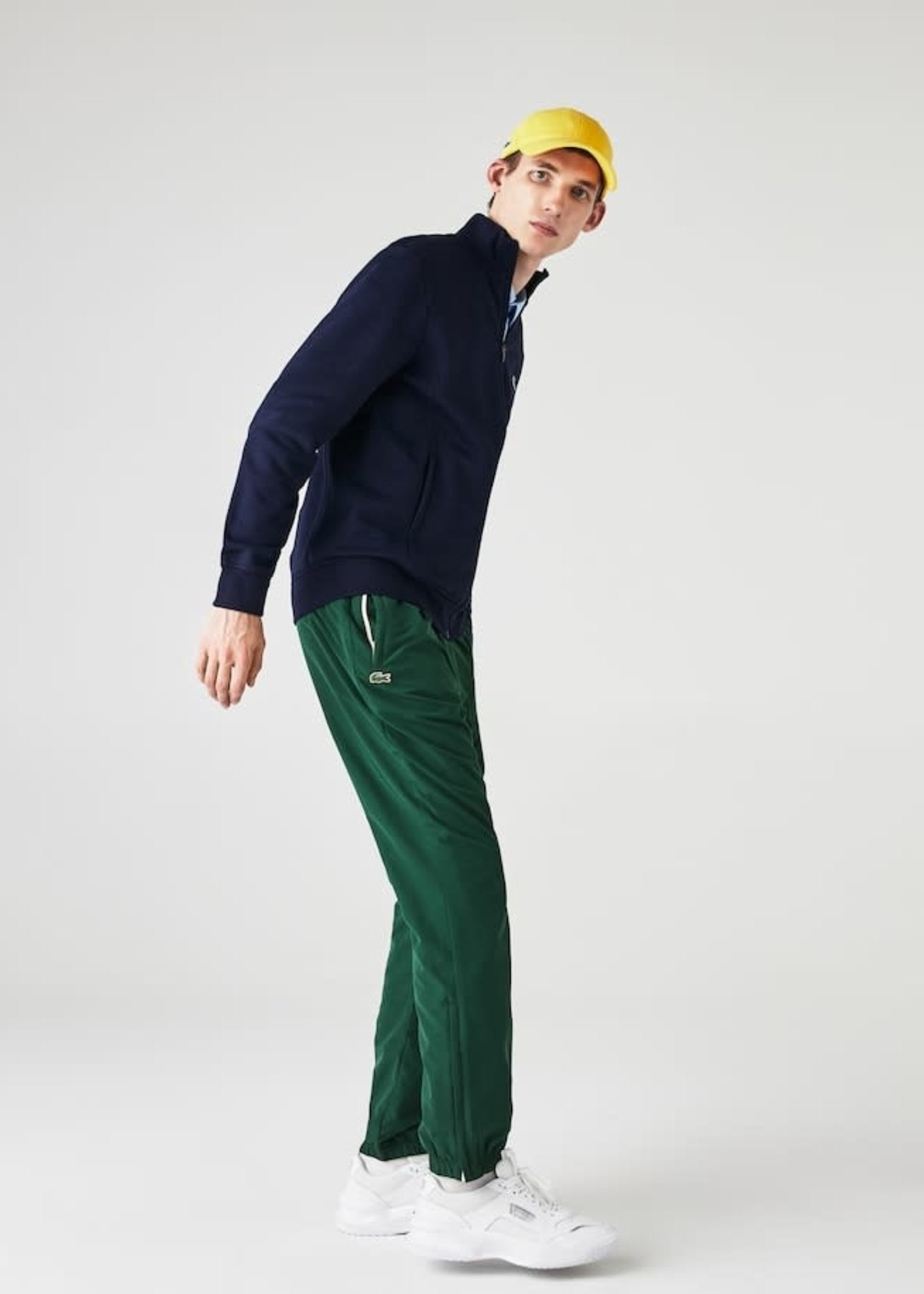 Lacoste Heren Sweatshirt /Vest met Rits