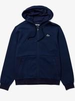 Lacoste Lacoste SPORT-sweatshirt heren capuchon,  mesh vlakken en rits