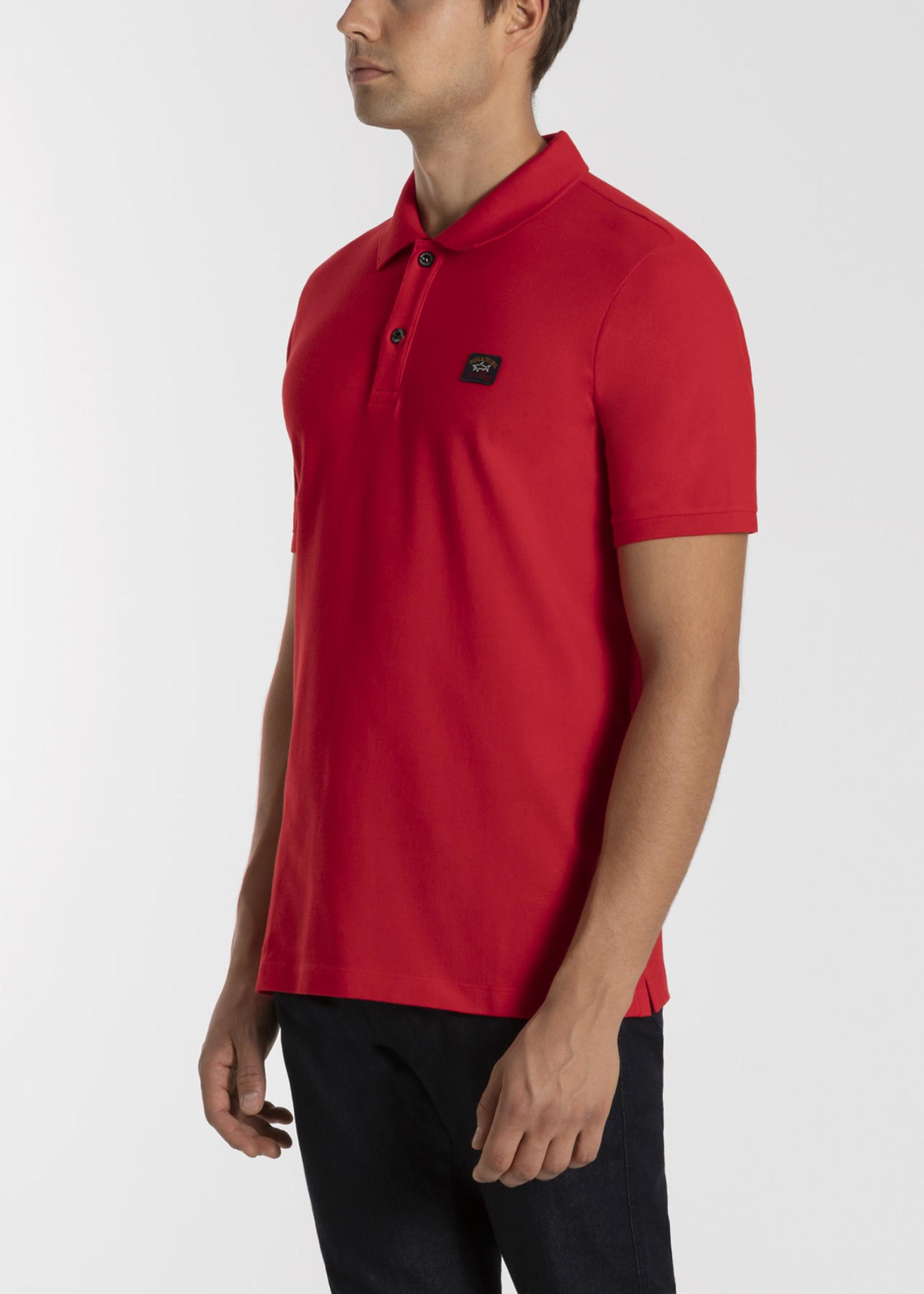 Paul & Shark Uni Polo Rood