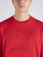 Paul & Shark Paul & Shark Sweater Rood Reliëf Logo