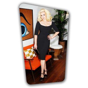 Brigitte Pencil Dress  - Black