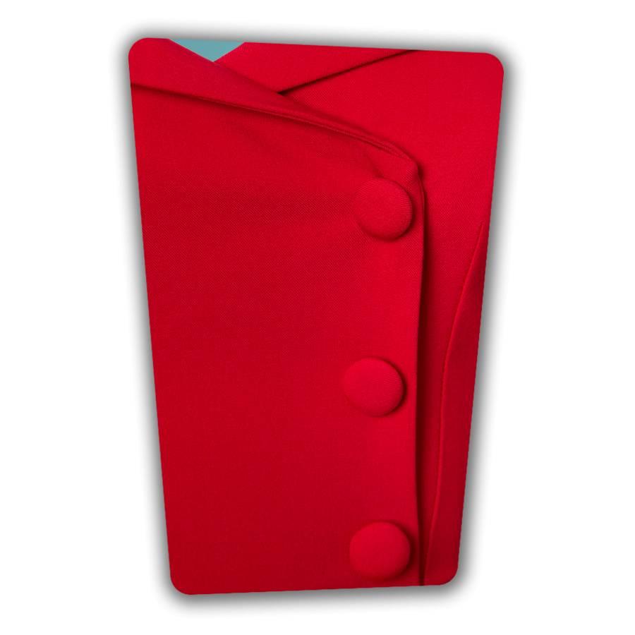 Faith Swing Dress in Red