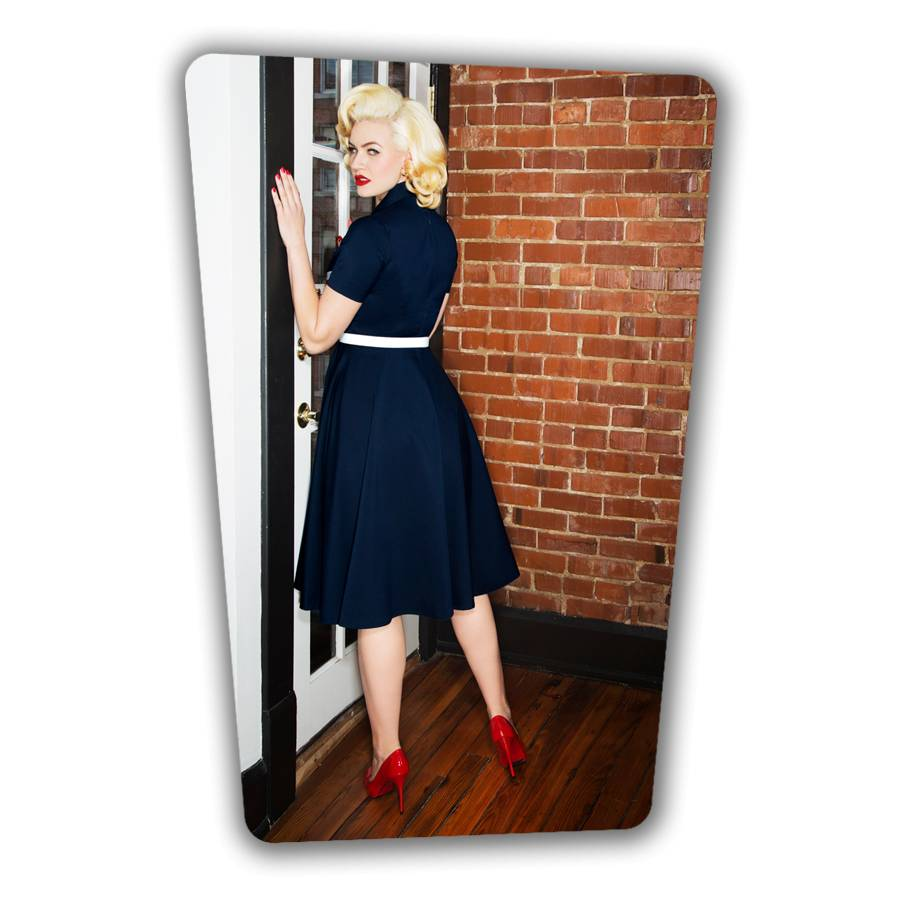 June Swing Dress - Navy