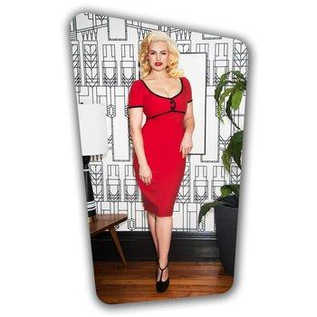 Tess Pencil Dress - Red