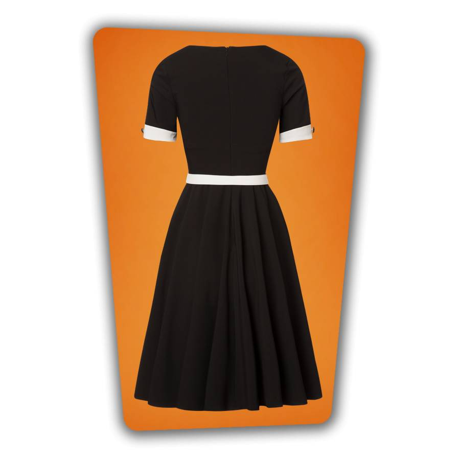 Annie Swing Dress - Black