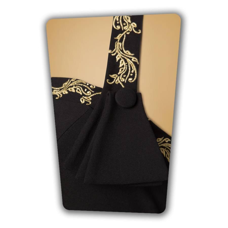 Candy Pencil Dress - Black