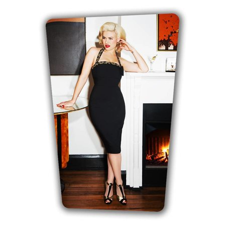 Candy Pencil Dress - Black