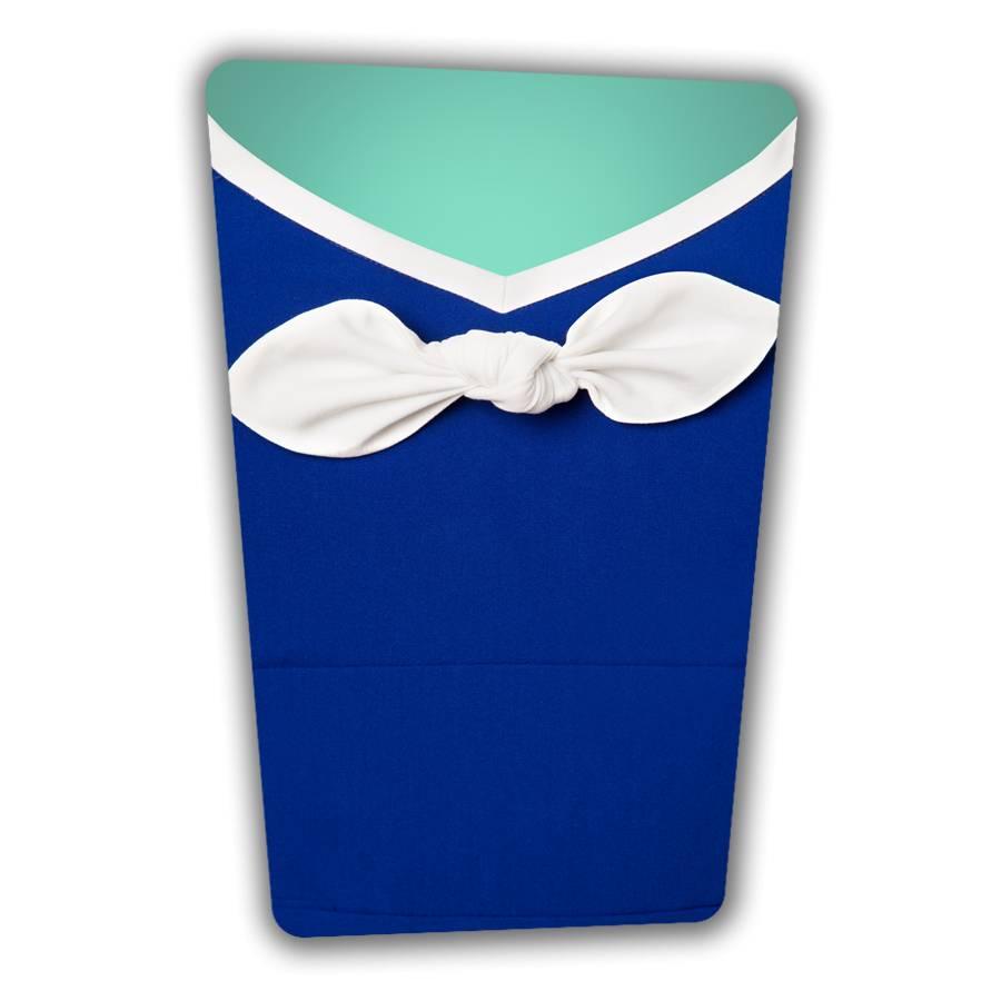 Karen Pencil Dress - Royal Blue