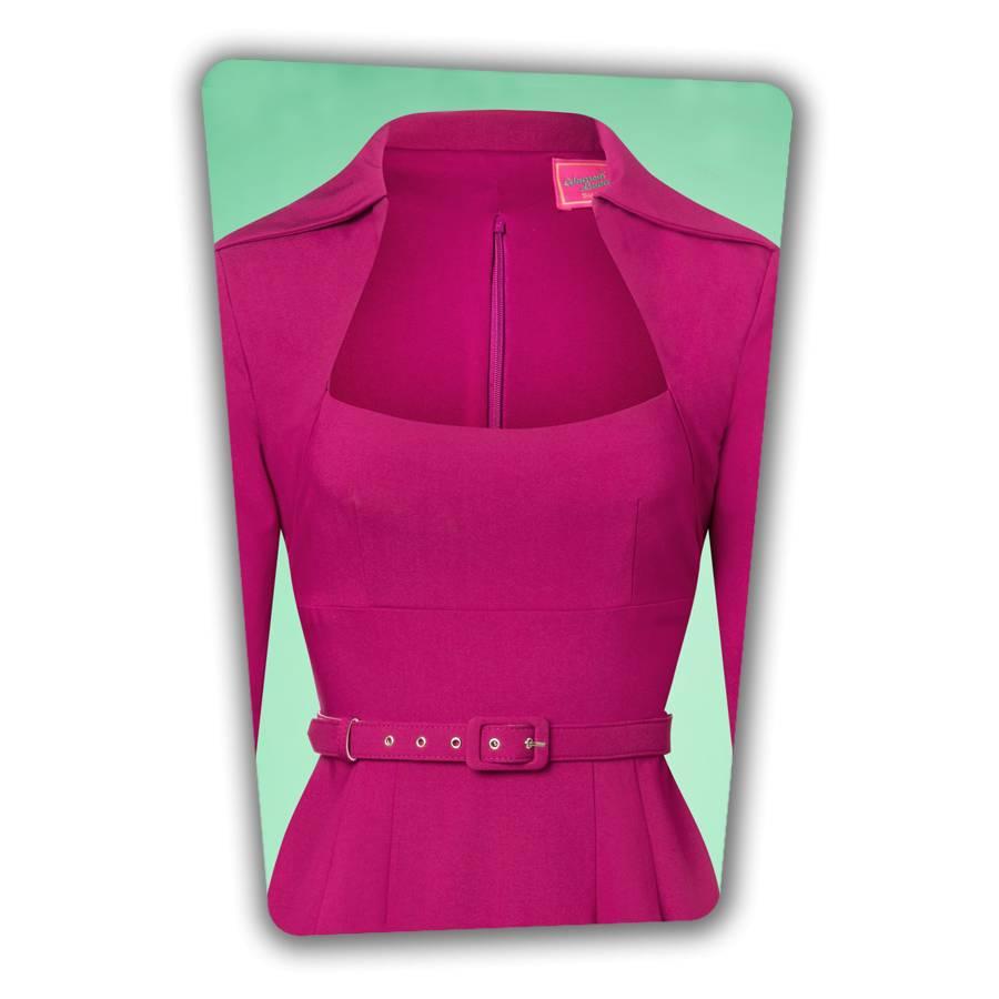 Lorelei Pencil Dress - Berry