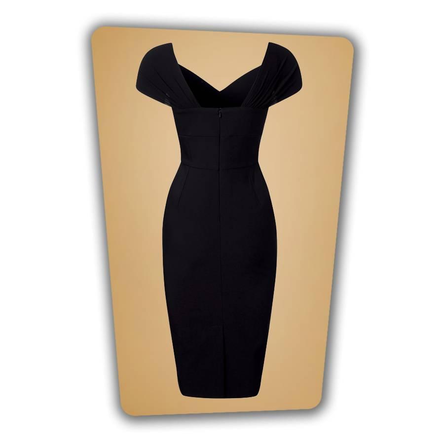 Ruby Pencil Dress - Black