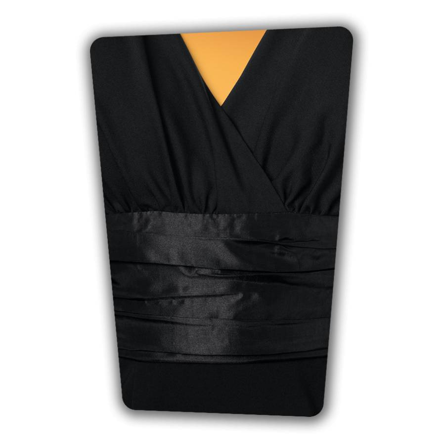 Sophia Pencil Dress - Black