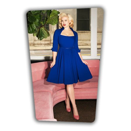 Lorelei Swing Dress - Royal Blue