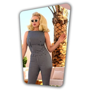 Donna Capri Suit Top in Gingham