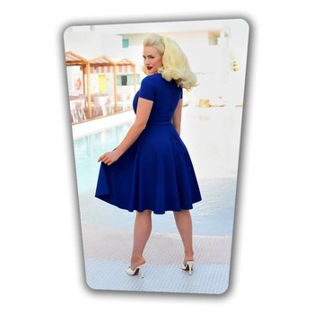 Ella Swing Dress Royal Blue