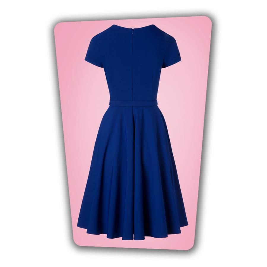 Ella Swing Dress Royal Blue