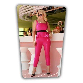 Eve Top Hot Pink