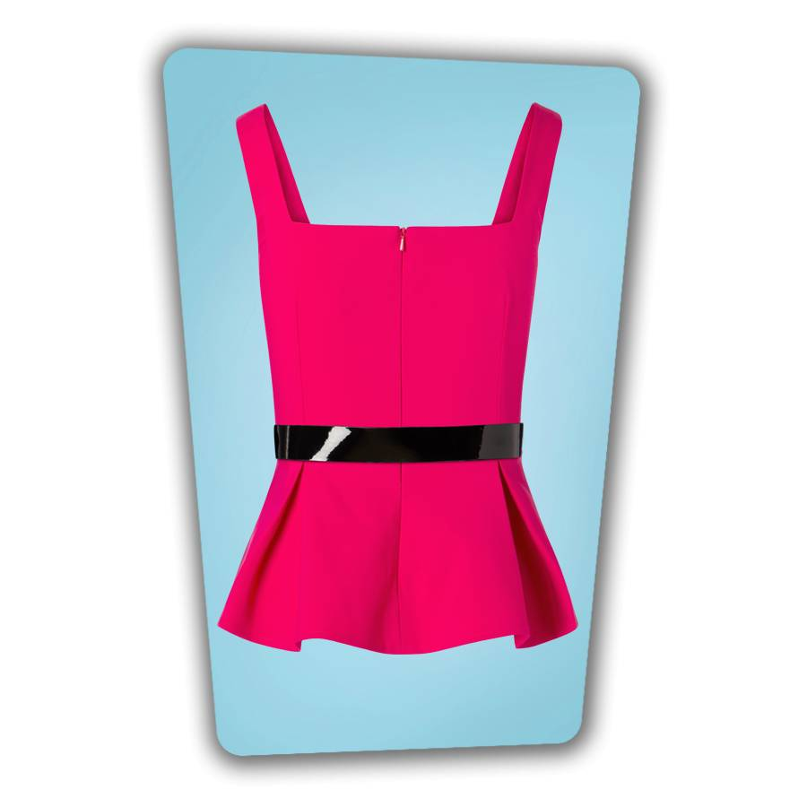 Eve Top Hot Pink