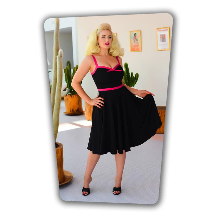 Rebecca Swing Dress Black