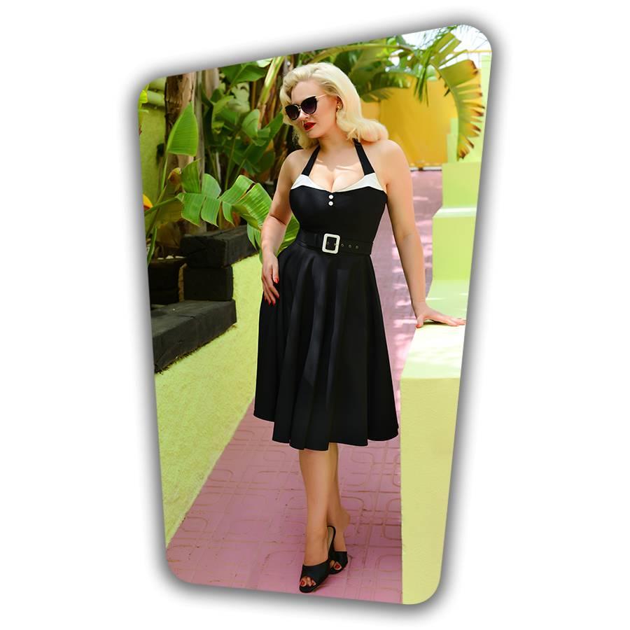 Alice Swing Dress Black