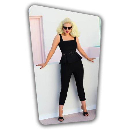 Donna Capri Pants Black