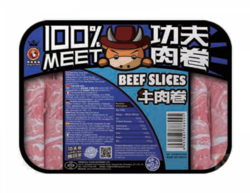 功夫牛肉卷(400g)KUNG FU FOOD Beef Slices