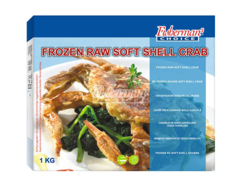 Frozen raw soft shell crab 1Kg