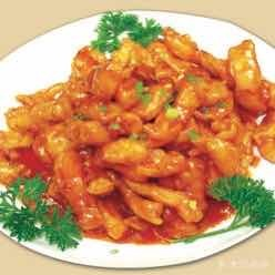 Sweet and sour chicken cutlets