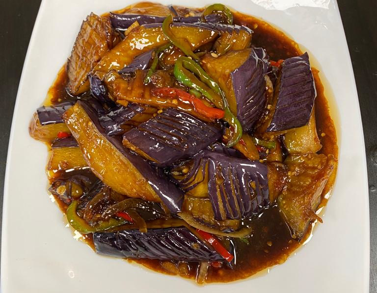 Eggplant with Brown Sauce