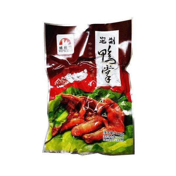 Wei Ta Xing Pickled Duck Palm(115g)